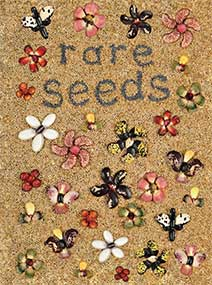 Cover of the Rare Seeds catalog from Baker Creek.