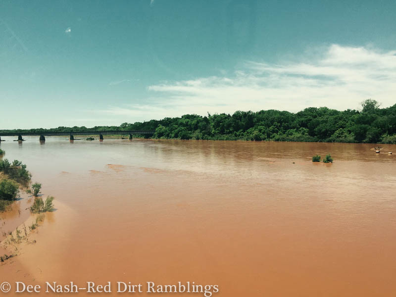 Cimarron River on May 17, 2015--Red Dirt Ramblings