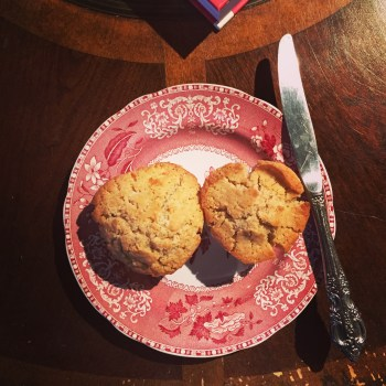 Gluten free nutmeg muffins for Christmas