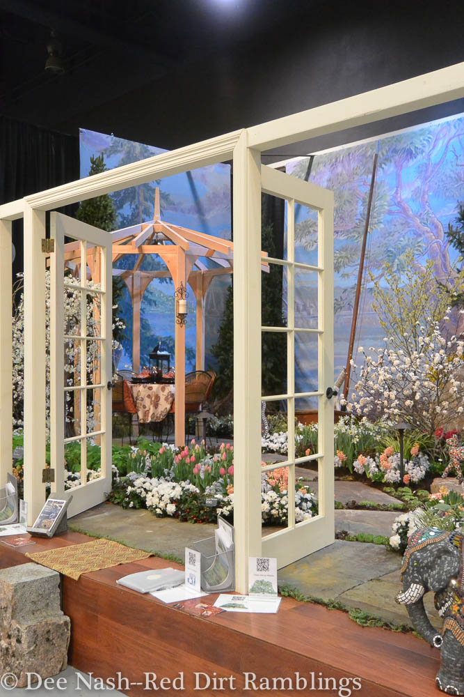 "A Room with a ""Garden"" View, by English Landscapes Group. Northwest Flower & Garden Show--Dee Nash"