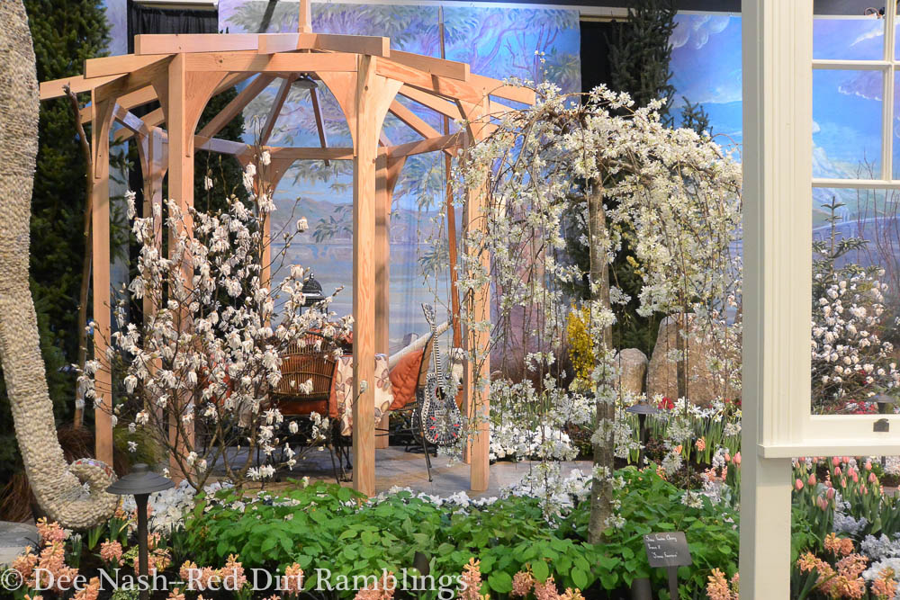 """Another view of A Room with a """"Garden"""" View at the Northwest Flower & Garden Show."""