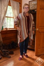 Billabong Beach Ramblin Cardy cardigan. I should have pulled back one side to make myself look thinner.