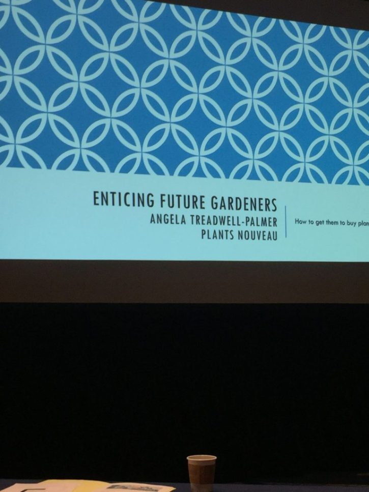 Title Slide from Angela Treadwell-Palmer's talk on consumers.