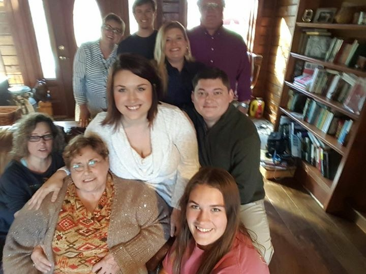 The whole family at Thanksgiving!