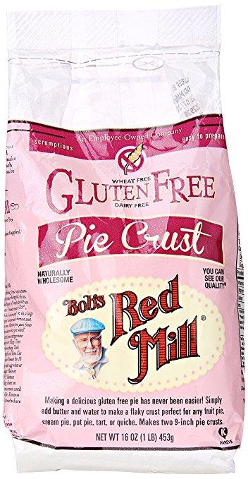 Bob's Red Mill gluten free pie crust mix.