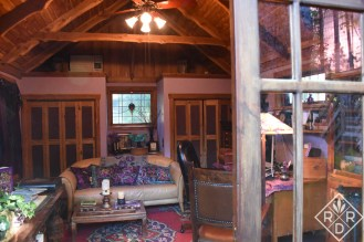 Inside Lucinda Hutson's writing room.