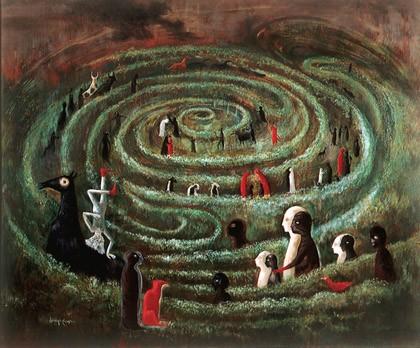 leonora-carrington labyrinth