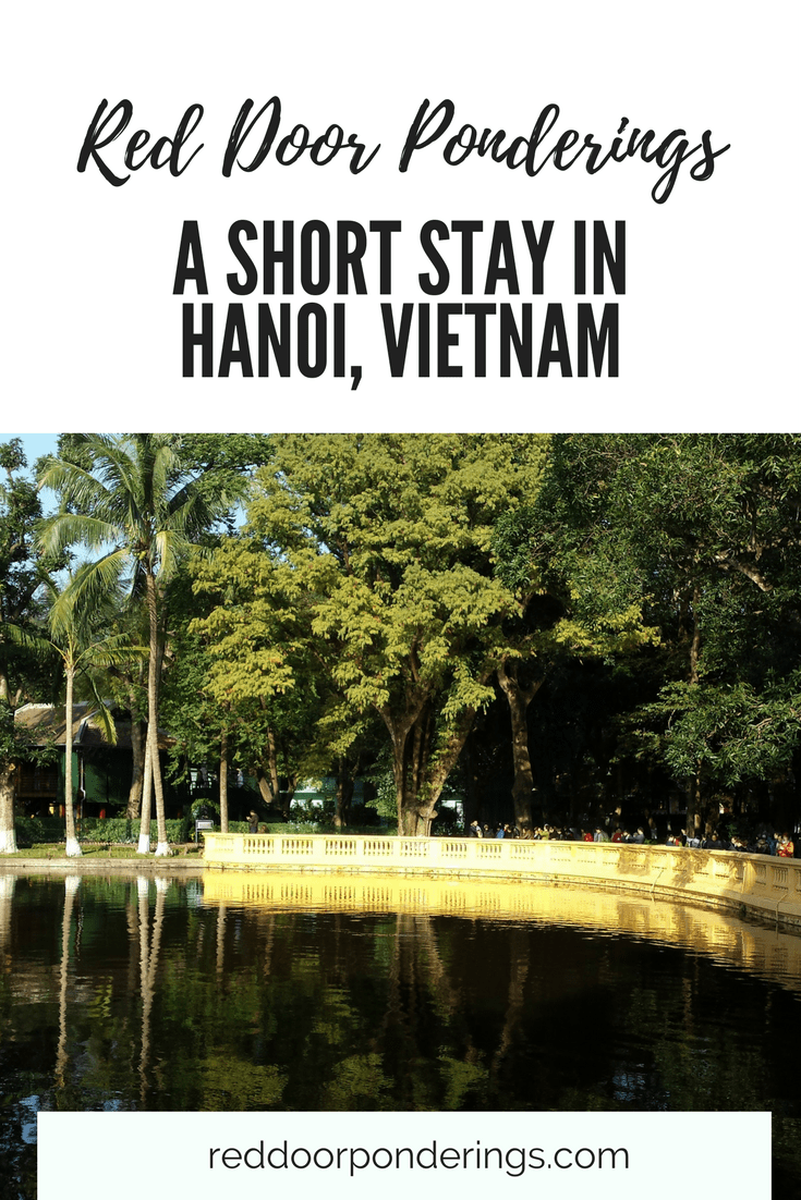 short stay in hanoi