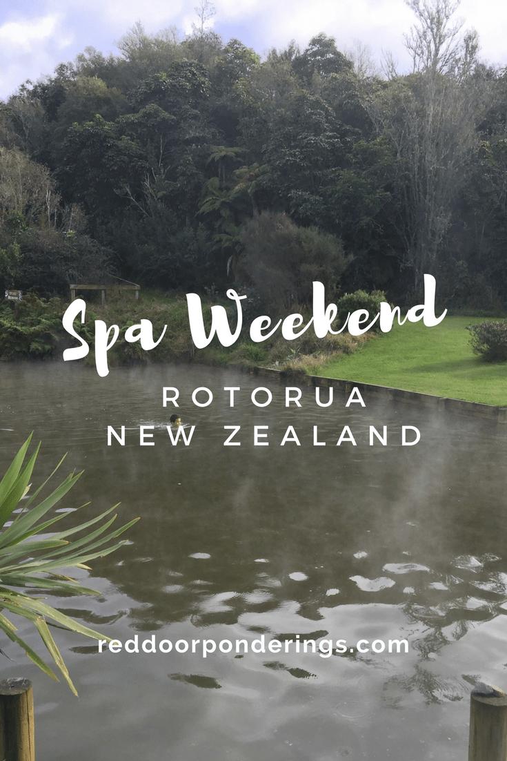 spa weekend. Rotorua, New Zealand