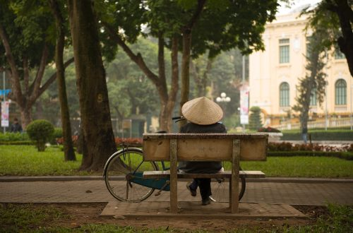 a short stay in Hanoi