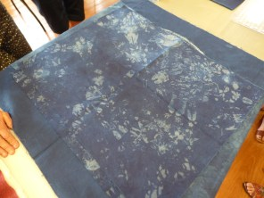 More indigo dyeing from Alison