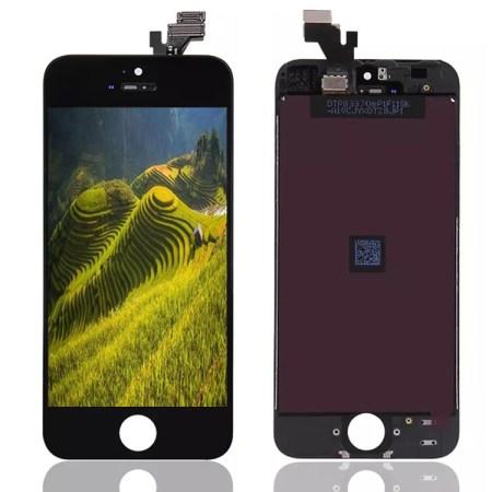 IPhone 5se Sort Orginal LCD Display Touch Skærm (Oem)