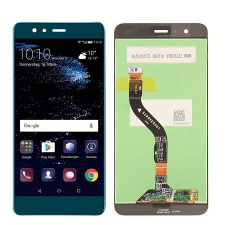 Huawei P10 Lite Sort Skærm Oem Kvalitet