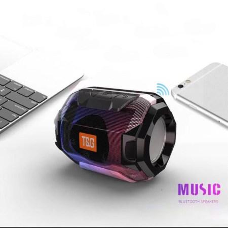Portable LED Bluetooth Højttaler Mini Outdoors