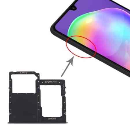 Samsung A40 Double Simkort holder