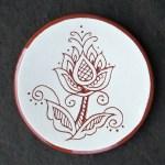 Henna Tea Dish - $8.