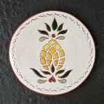6 in. Round Pineapple Tile Trivet - $25.