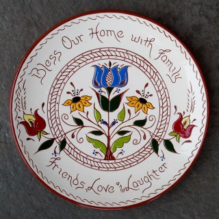 8 in. 'Bless with.....' Plate