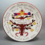 #1 - 10 in. Family Tree Plate - $65.