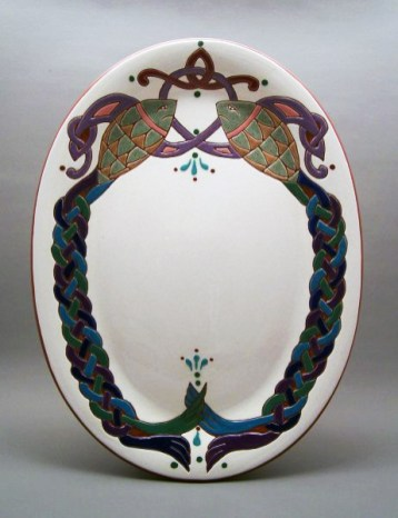 10 in. x 13 in. Fish Platter - $95