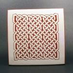 6 in. square Maze tile trivet - $20.