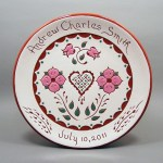 #3 - 8 in. Birth Plate - $39.