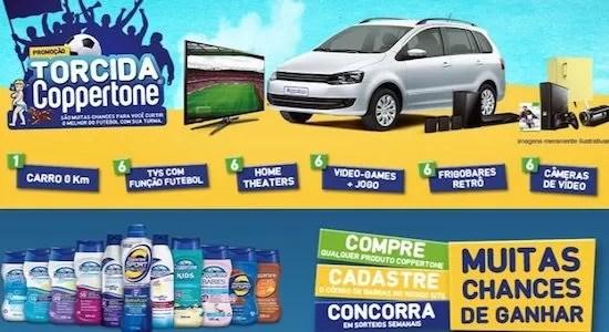 Cadastrar na Promoção TORCIDA COPPERTONE - Rede da Promoção