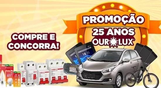 Cadastrar Promoção 25 Anos Ourolux 99.000 Mil Reais Prêmios - Rede da Promoção