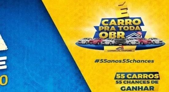 Promoção Comercial Ivaiporã Carro Para Toda Obra - Rede da Promoção