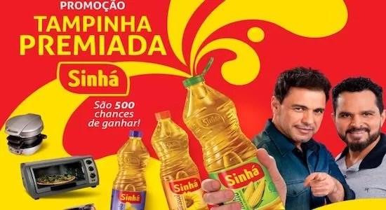 Cadastrar Tampinha Promoção Tampinha Premiada Sinhá