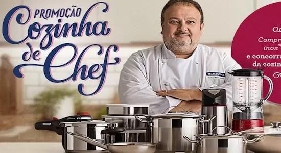 Tramontina Cadastrar Promoção Cozinha de Chef Tramontina - Rede da Promoção