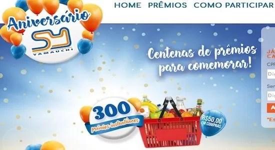 Supermercados Yamauchi Promoção de Aniversário 50 Anos