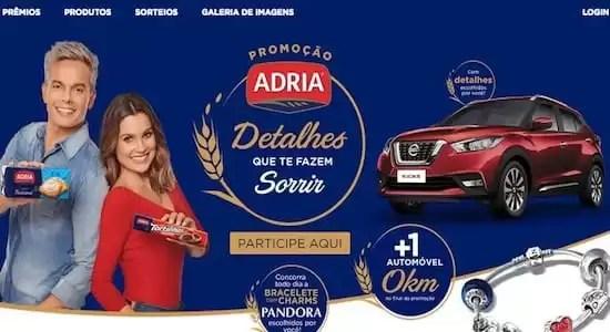 Promoção ADRIA Detalhes Que Te Fazem Sorrir - Rede da Promoção