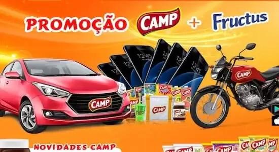 Cadastrar Promoção Camp Mais Fructus - Rede da Promoção
