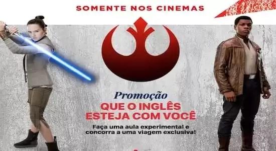 Promoção Wizard e Star Wars