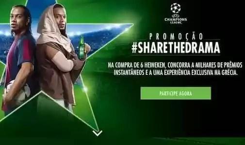 Heineken Promoção Share The Drama - Rede da Promoção