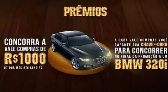 Promoção Chave de Ouro Delta Supermercados - Rede da Promoção