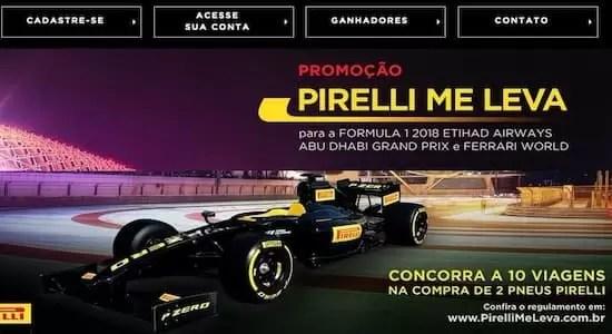 Promoção Pirelli Me Leva 2018 - Rede da Promoção