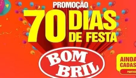 Promoção Bombril 70 Dias de Festa - Rede da Promoção