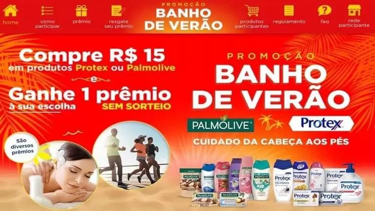 Palmolive e Protex Promoção Banho de Verão - Rede da Promoção