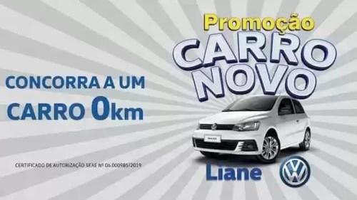 Promoção Carro Novo Liane 2019