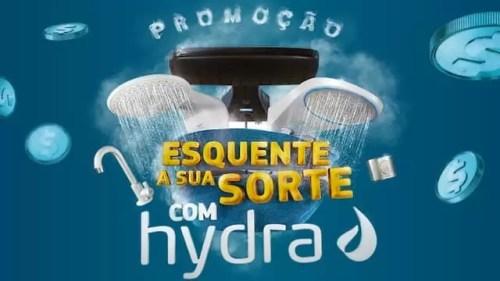 Cadastrar Promoção Esquente Sua Sorte Com Hydra
