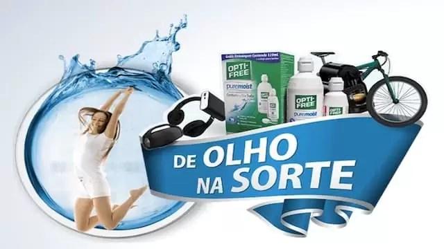 OPTI-FREE Promoção de Olho na Sorte 2019