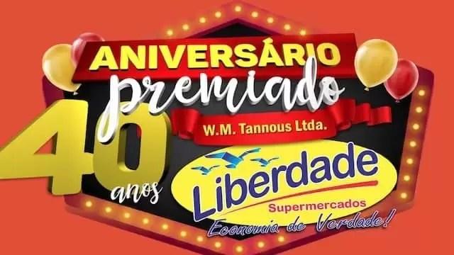 Aniversário Premiado 40 Anos W. M. Tannous Liberdade Supermercados