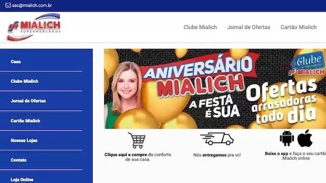 Promoção Premialich SUPERMERCADOS MIALICH