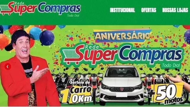 Promoção de Aniversário Super Compras 2