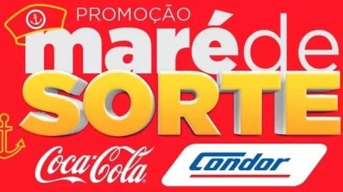 Promoção Condor Maré de Sorte Coca-Cola