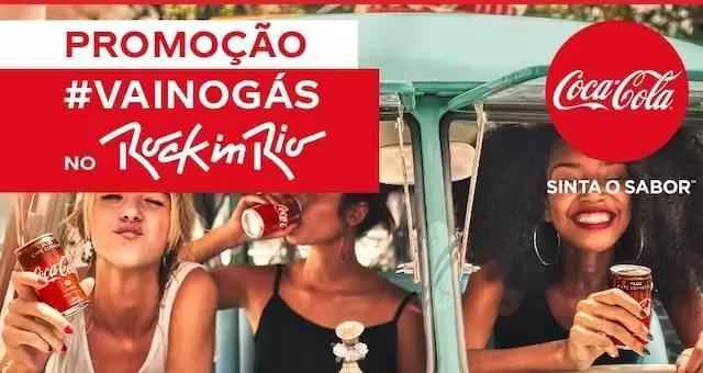 Promoção Extra #Vainogás no Rock In Rio