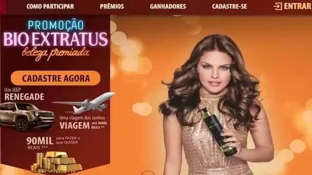 Bio Extratus Beleza Premiada - Rede da Promoção