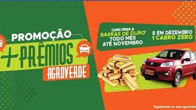 Promoção Mais Prêmios Agroverde